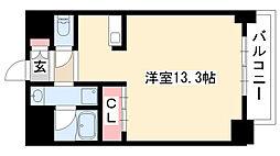 愛知県名古屋市昭和区吹上町2丁目の賃貸マンションの間取り
