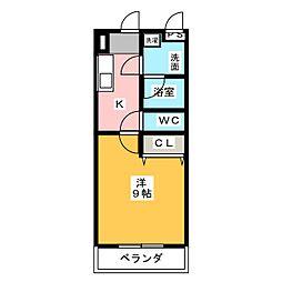 U−シュプール[3階]の間取り