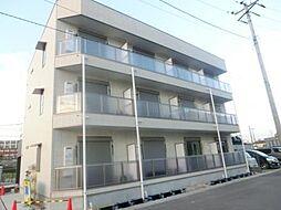 埼玉県戸田市新曽の賃貸アパートの外観