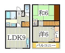 伊藤ハイツ[1階]の間取り