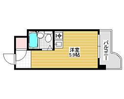 朝日プラザ堺東[4階]の間取り