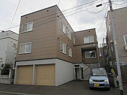 北海道札幌市東区北三十六条東10丁目の賃貸アパートの外観