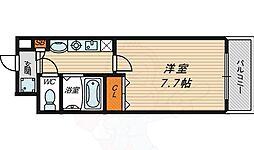 M'PLAZA蒲生四駅前 10階1Kの間取り