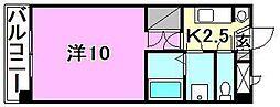 サンハイツ11[305 号室号室]の間取り