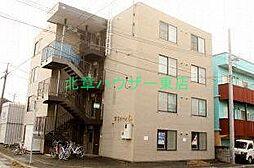 北海道札幌市東区北二十四条東21丁目の賃貸マンションの外観