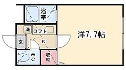 ラ・シャンス文京第1[103号室]の間取り