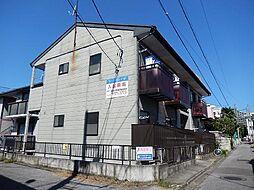 栃木県宇都宮市桜3丁目の賃貸アパートの外観
