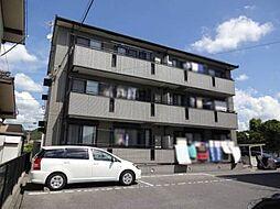 岡山県岡山市北区西崎2丁目の賃貸アパートの外観