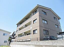 滋賀県甲賀市水口町名坂の賃貸マンションの外観