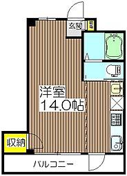 たちばなマンション[2階]の間取り