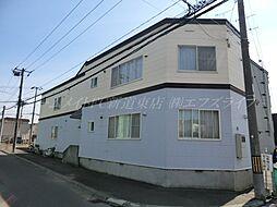 北海道札幌市東区北四十七条東15丁目の賃貸アパートの外観