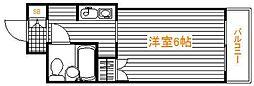 東京都葛飾区立石2丁目の賃貸マンションの間取り