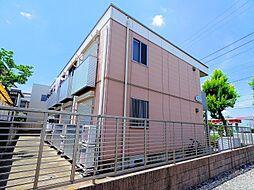 東京都東大和市南街3丁目の賃貸アパートの外観