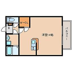 兵庫県尼崎市西本町8丁目の賃貸マンションの間取り