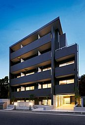 東京都目黒区東山2丁目の賃貸マンションの外観