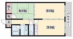 青山NKマンション[7階]の間取り