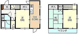 [テラスハウス] 東京都東久留米市柳窪2丁目 の賃貸【/】の間取り