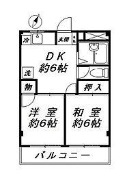 千葉県浦安市猫実1の賃貸マンションの間取り
