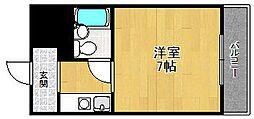トレスアイジツ[2階]の間取り