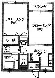 佐藤ビル[303号室]の間取り