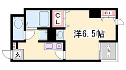 ハイム日暮[3階]の間取り