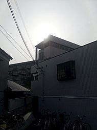 東白マンション[3階]の外観