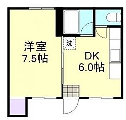 本町貸家[1階]の間取り