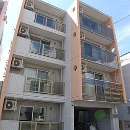 北海道札幌市豊平区平岸二条9丁目の賃貸マンションの外観