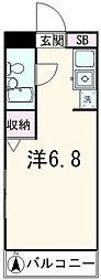 マートルコート西台[2階]の間取り