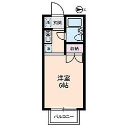 富士ハウス[0203号室]の間取り