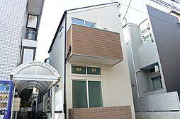 大物新築アパート[201号室]の外観