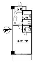 ラ・ルミエール宇田川[3階]の間取り