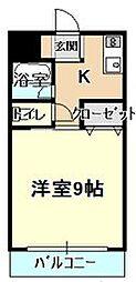 グランドヴィラ松永[7階]の間取り