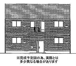 ポルト白石B棟[2階]の外観