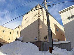 北海道札幌市手稲区曙一条2の賃貸アパートの外観
