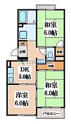 ドルフミヤタ[2階]の間取り