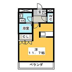 コンフォーレ ユー[2階]の間取り