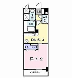 エス・テイト守恒[5階]の間取り