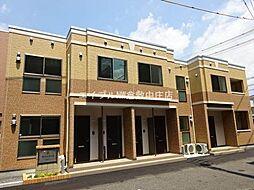 岡山県倉敷市幸町の賃貸アパートの外観