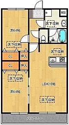 仮)ルネス梅満[3階]の間取り