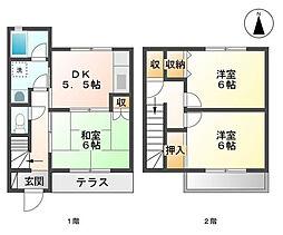 埼玉県春日部市大衾の賃貸アパートの間取り