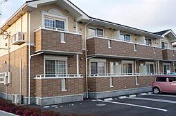 滋賀県草津市矢橋町の賃貸アパートの外観