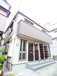 東京都小平市美園町1丁目の賃貸アパートの外観