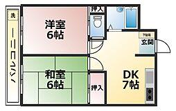 そごうマンション[305号室]の間取り