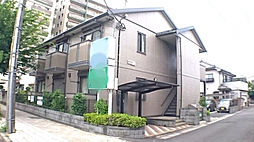埼玉県春日部市粕壁東3丁目の賃貸アパートの外観