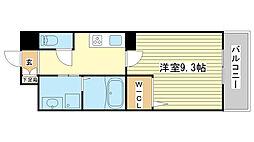 兵庫県姫路市紺屋町の賃貸マンションの間取り