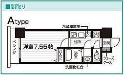 Nasic仙台東口[1010号室号室]の間取り