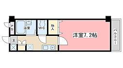 フォレスト醍醐[212号室]の間取り