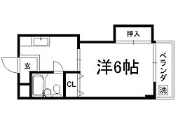 TAISEI北野[302号室]の間取り