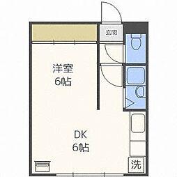 キャスティ86[1階]の間取り